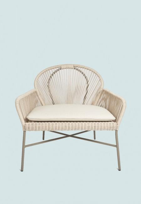 Pandura Lounge Chair with Stool