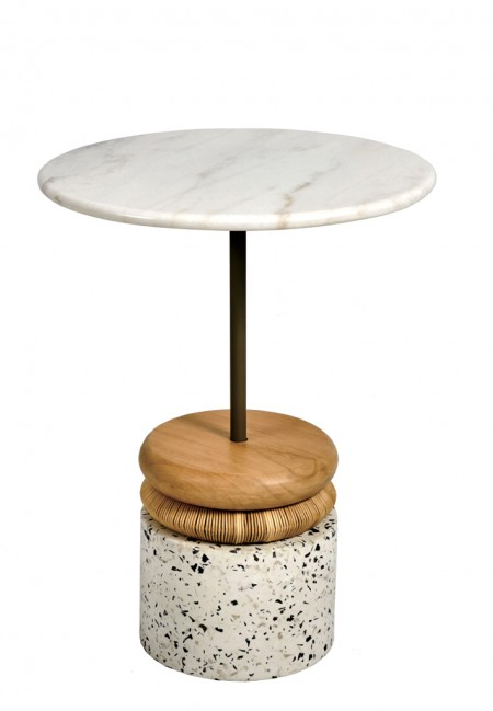 Terazo Side Table