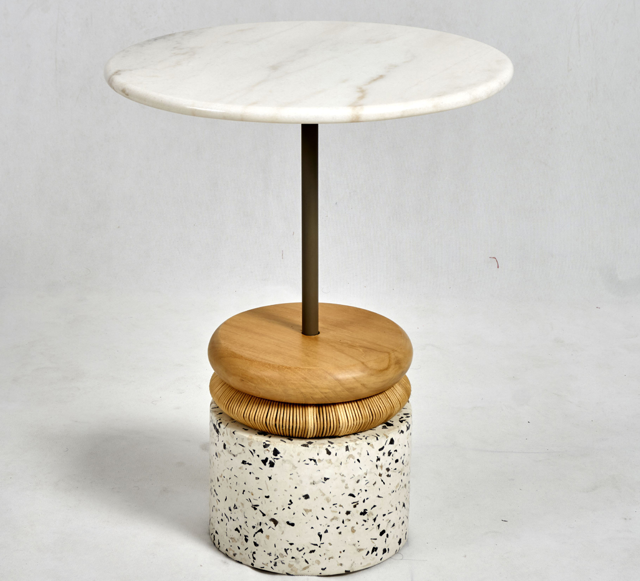 terazo side table detail 3