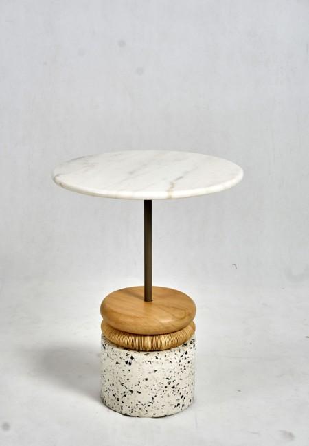 Terazo Side Table