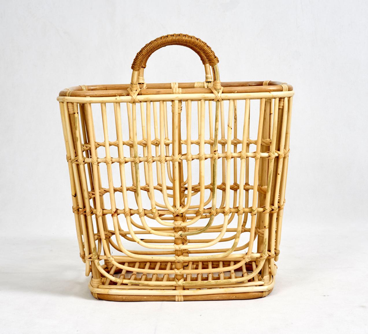 rattan basket detail 3